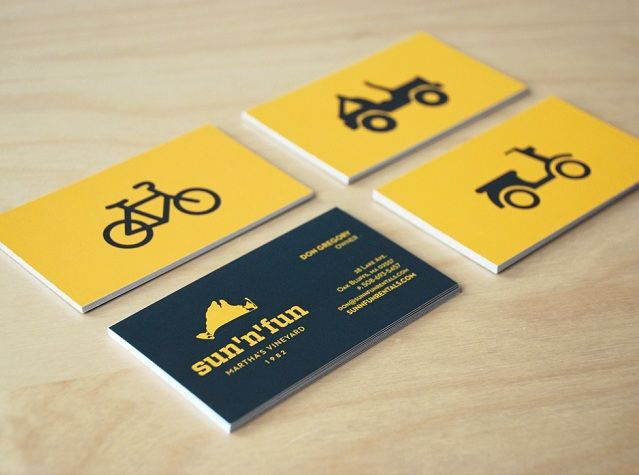 Charming creative business cards business cards business and sun n fun cards by bill s kenney for focus lab colourmoves