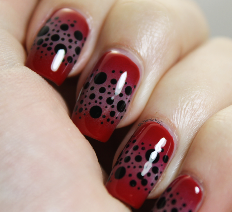 Science Nail Designs: Pretty Girl Science: Infection Nails