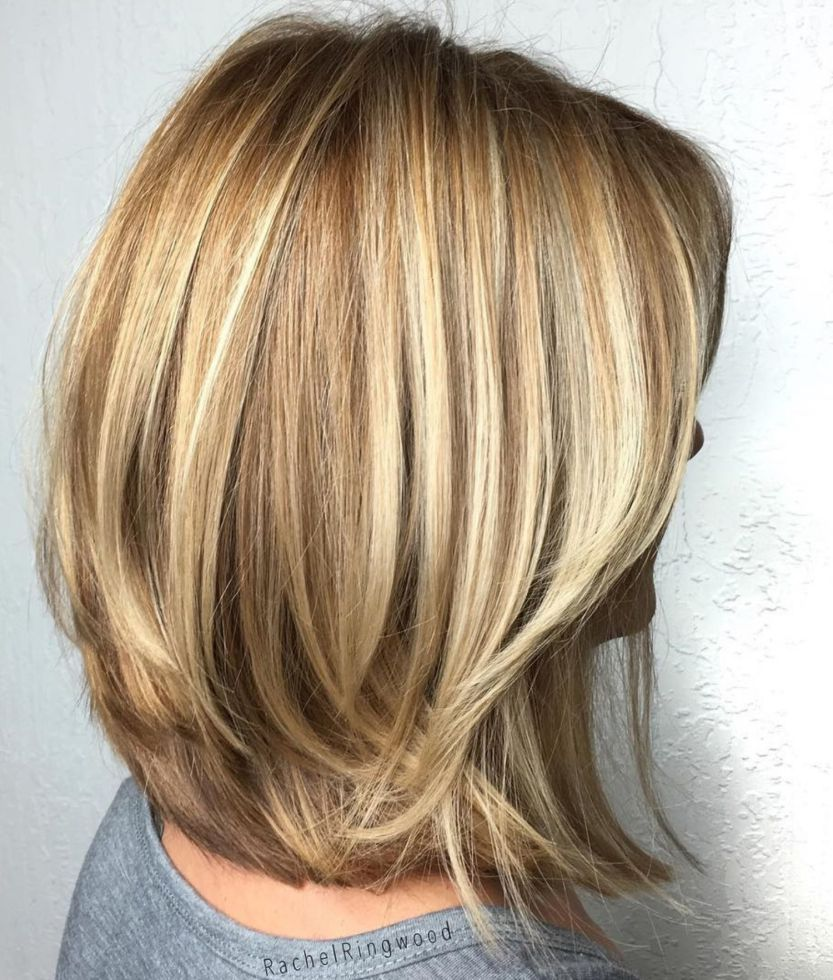 brightest medium layered haircuts to light you up hair it is