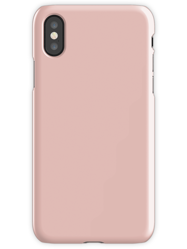 Rose Gold Solid Color Iphone X Snap By Rewstudio In 2021 Iphone Case Covers Iphone Gold Phone Case