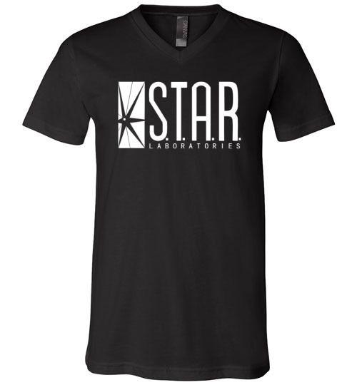 Amazing STAR Labs Unisex V-Neck T-Shirt