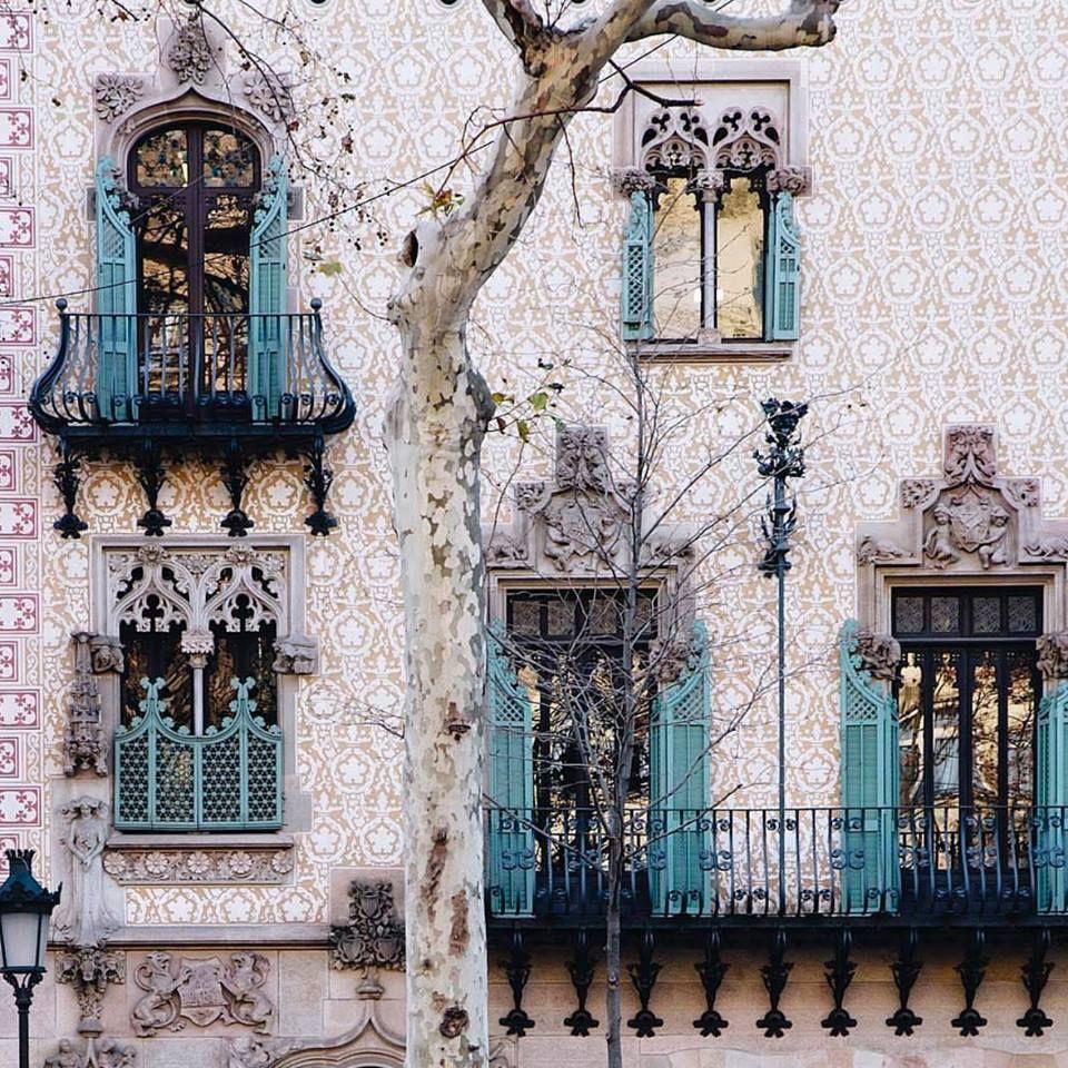 Paseo De Gracia Barcelona Paseo De Gracia Modernismo Catalan Arquitectura