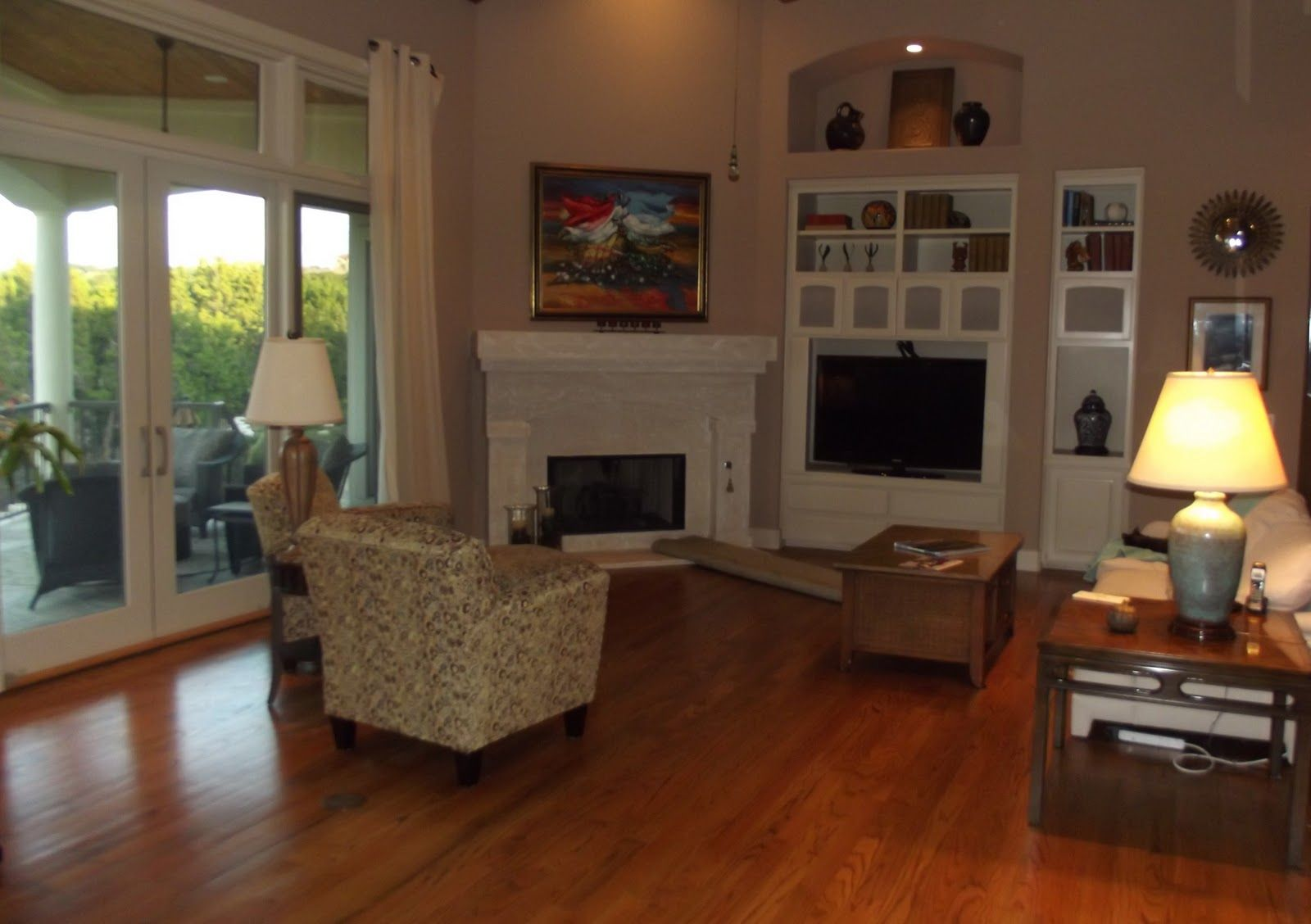 Furniture Placement In Living Room With Corner Fireplace ... on Small Space Small Living Room With Fireplace  id=84359