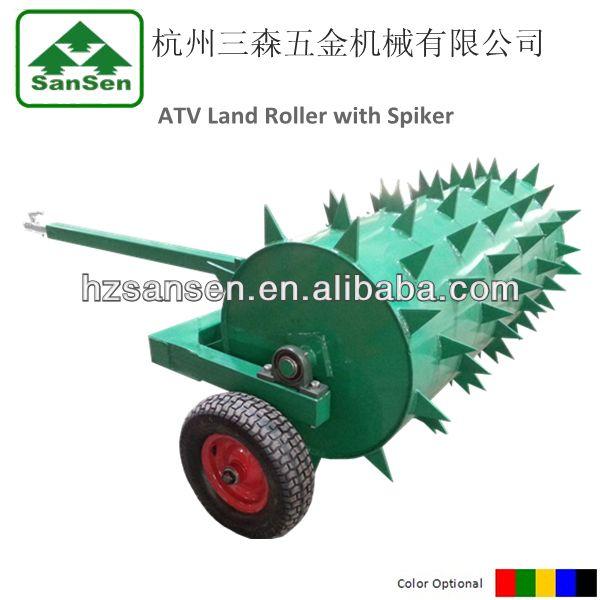 Atv Utv Tow Behind Ballast Roller Soil Compactor Roller