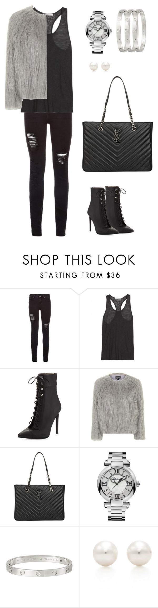 """Untitled"" by picasso2011 ❤ liked on Polyvore featuring Acne Studios, Jeffrey Campbell, Topshop, Yves Saint Laurent, Chopard, Cartier and Tiffany & Co."