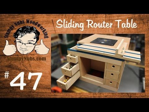 Snw47 build your own festool cms style homemade router table with snw47 build your own festool cms style homemade router table with sliding table youtube greentooth Images