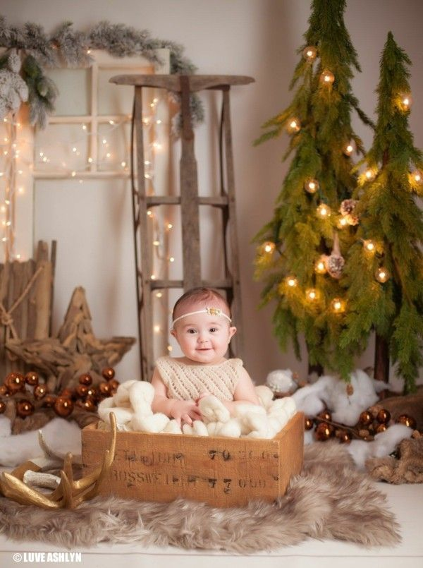 Baby's First Christmas Photo Shoot Near Me