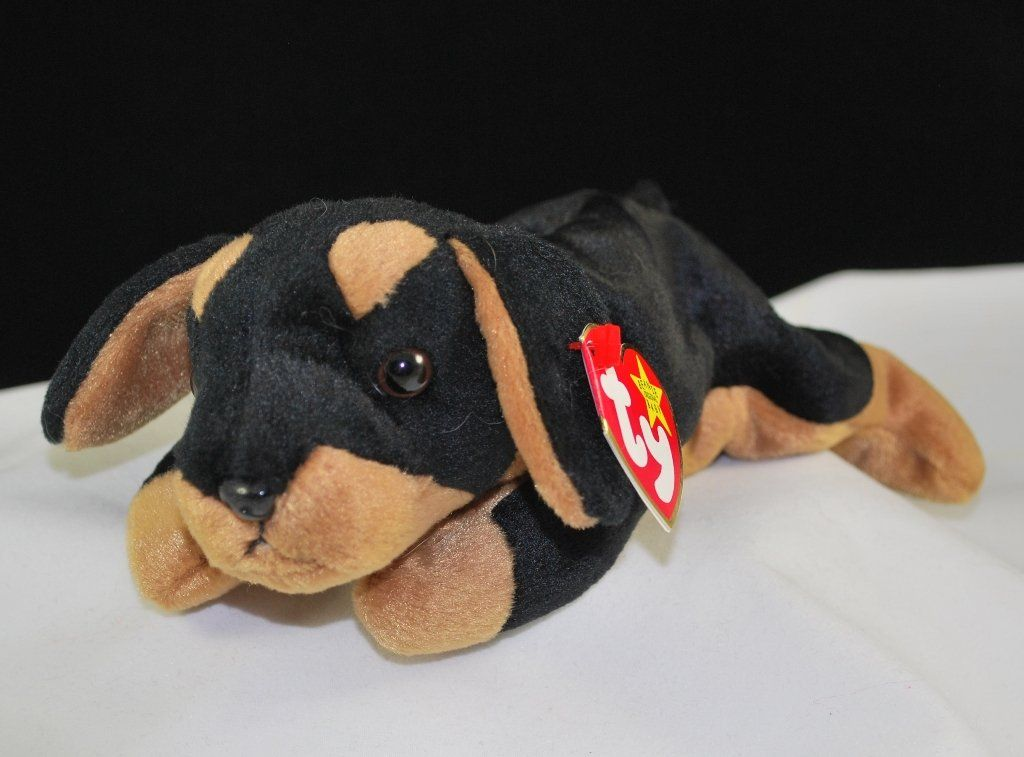14464307a78 Retired Ty Beanie Baby Doby  4110 Born  October 9
