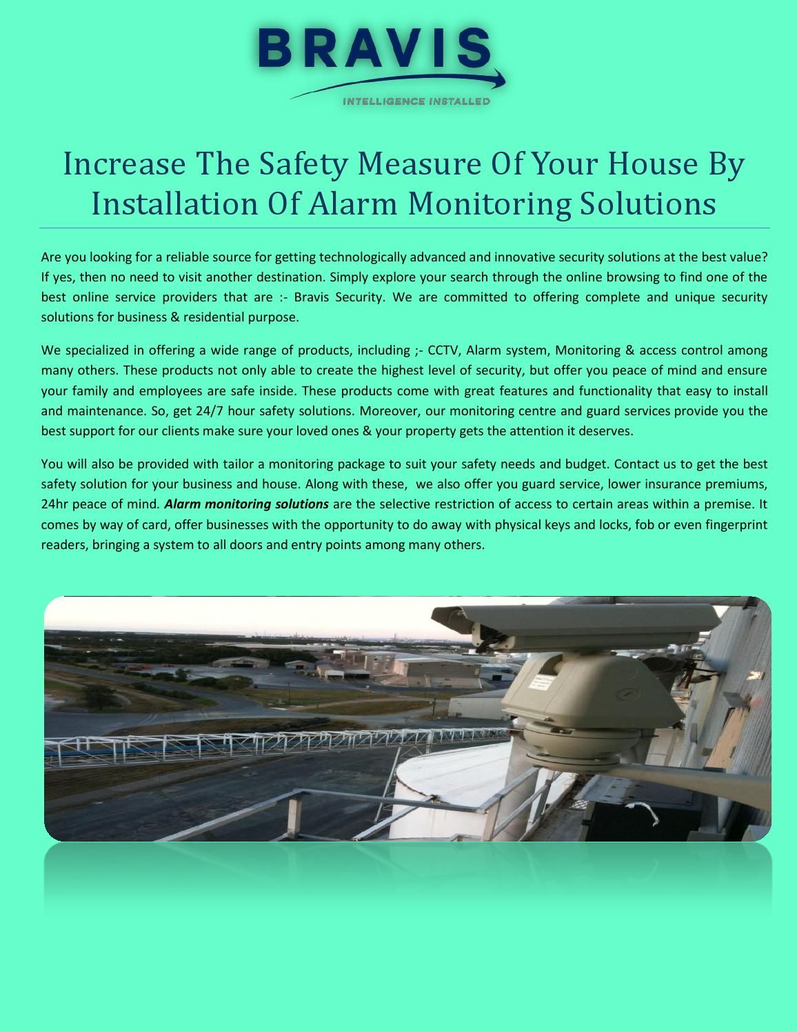 Increase The Safety Measure Of Your House By Installation