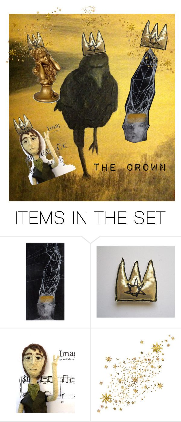 """The Crown"" by laughingdog ❤ liked on Polyvore featuring art"