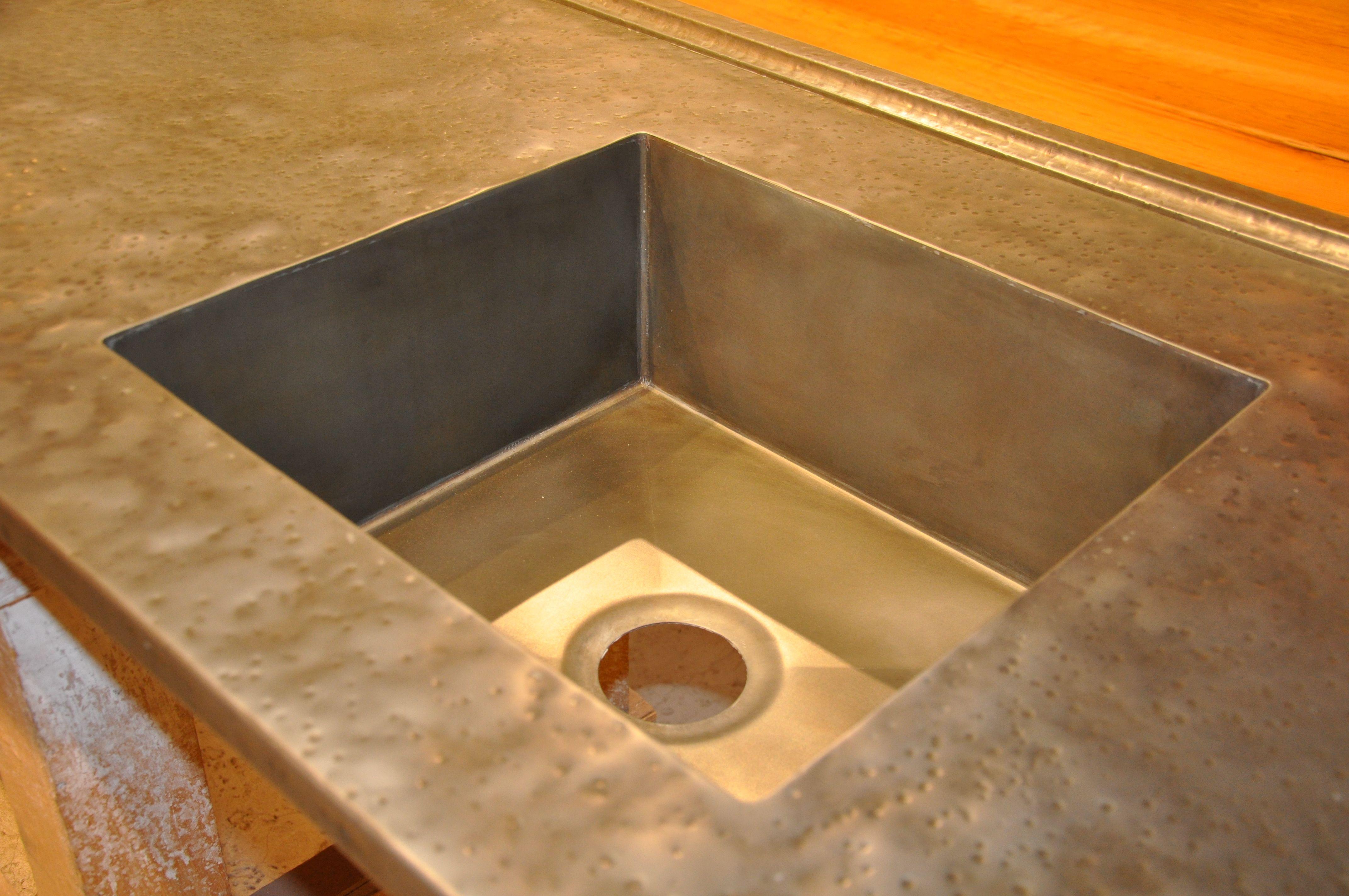 photos of custom zinc countertops with images zinc countertops countertops kitchen countertops on kitchen zinc id=47775