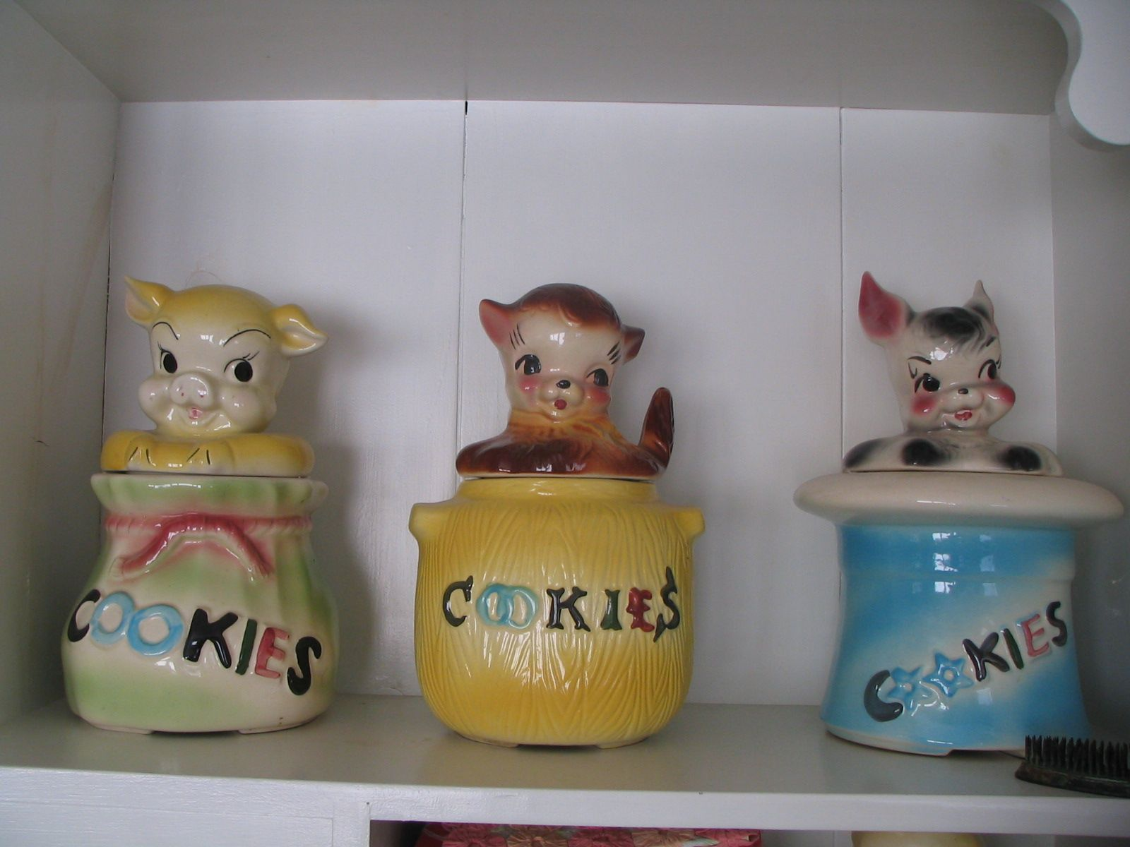 Nice Cookie Jars American Bisque Cookie Jars I Have The Rabbit But My Hat