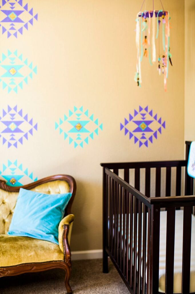 Nursery For Arrow Native American Tribal Design Decor