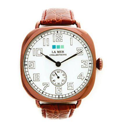 la mer vintage oversize watch
