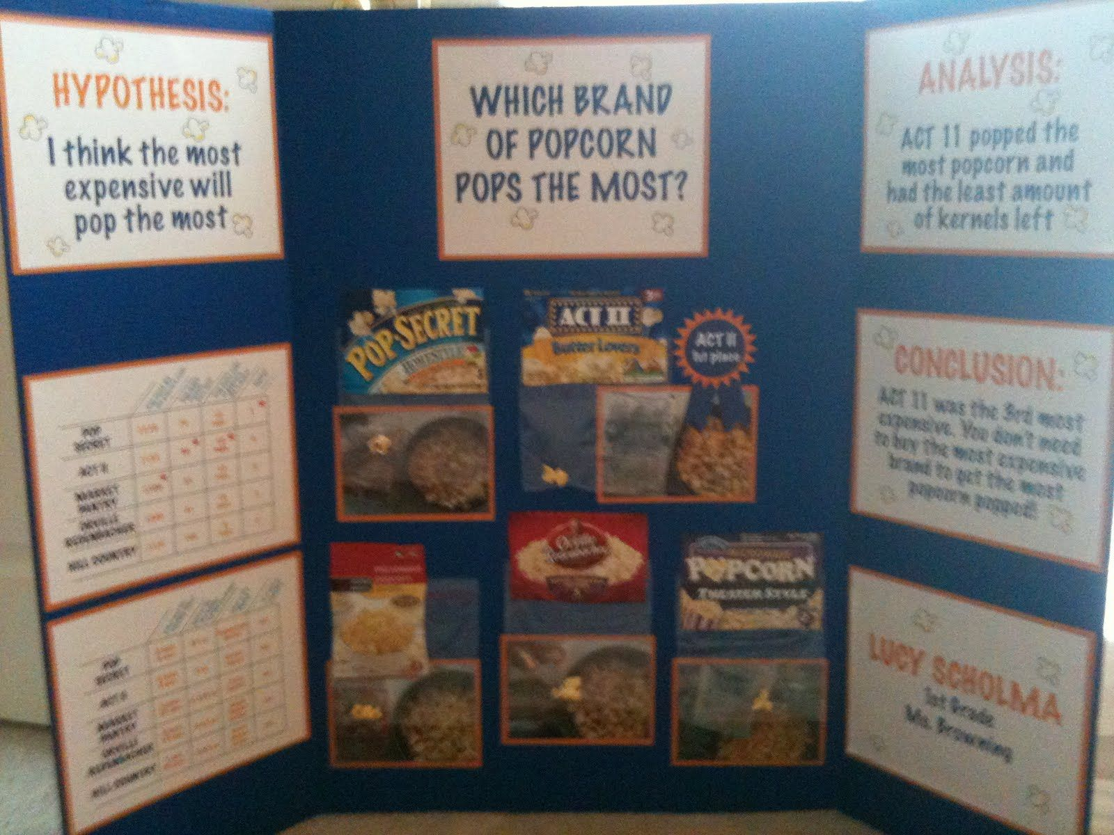 best science fair images science experiments popcorn science fair project okay if any teachers are reading this from my kids school