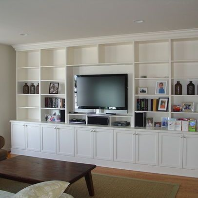 Lacquer Painted Wall Unit Built In Wall Units Living Room Built