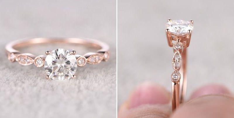 f06d0ed979b As melhores fotos de anéis de noivado do Pinterest