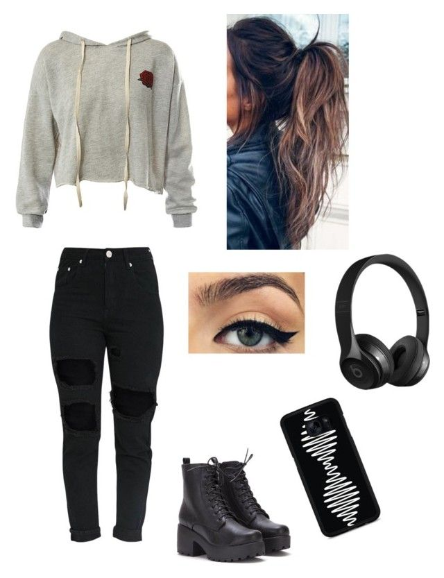 """""""46"""" by lydia2020 on Polyvore featuring Sans Souci, Beats by Dr. Dre and Samsung"""