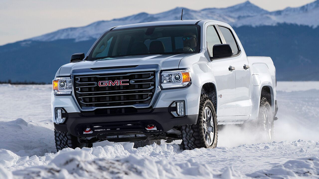 2021 Gmc Canyon Pickup Debuts With New Face In 2020 Gmc Canyon