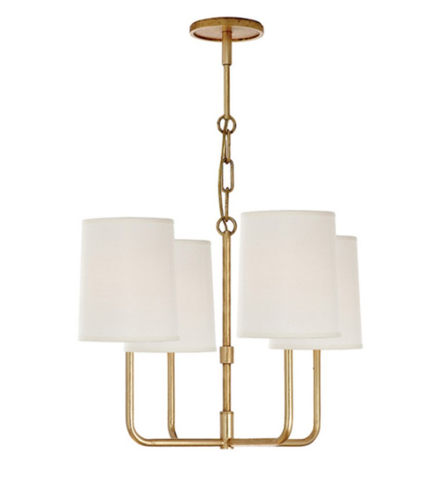Small Simple Chandelier Visual Comfort Bbl5080g S Barbara Barry Go Lightly Small