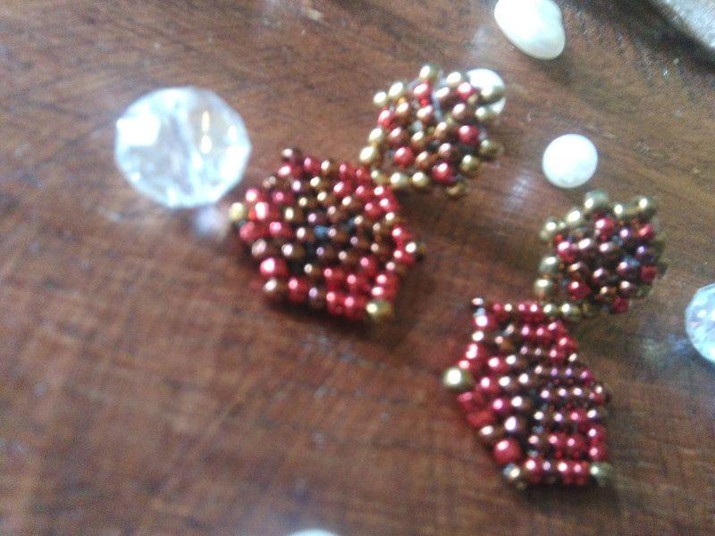 """Orecchini  con perle - Orecchini """"Love"""" - un prodotto unico di FranciRiCi su DaWanda"""