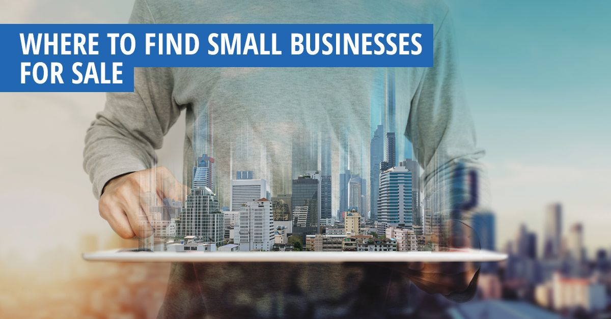 Looking to buy a small business? Where to Find Small