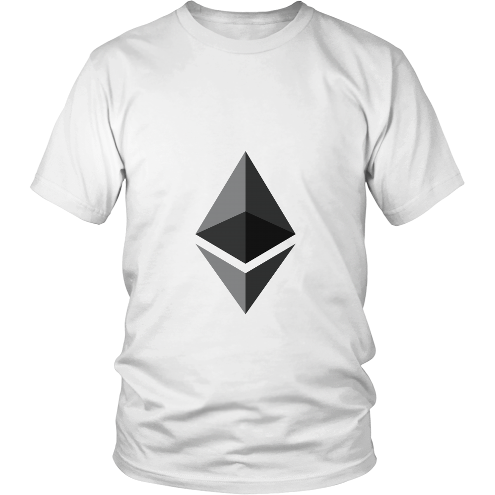 Ethereum TShirt Official Ethereum Logo Shirts to show