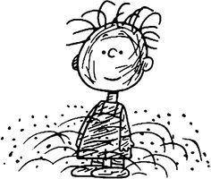 image result for charlie brown peanuts characters to color pigpen - Peanuts Characters Coloring Pages