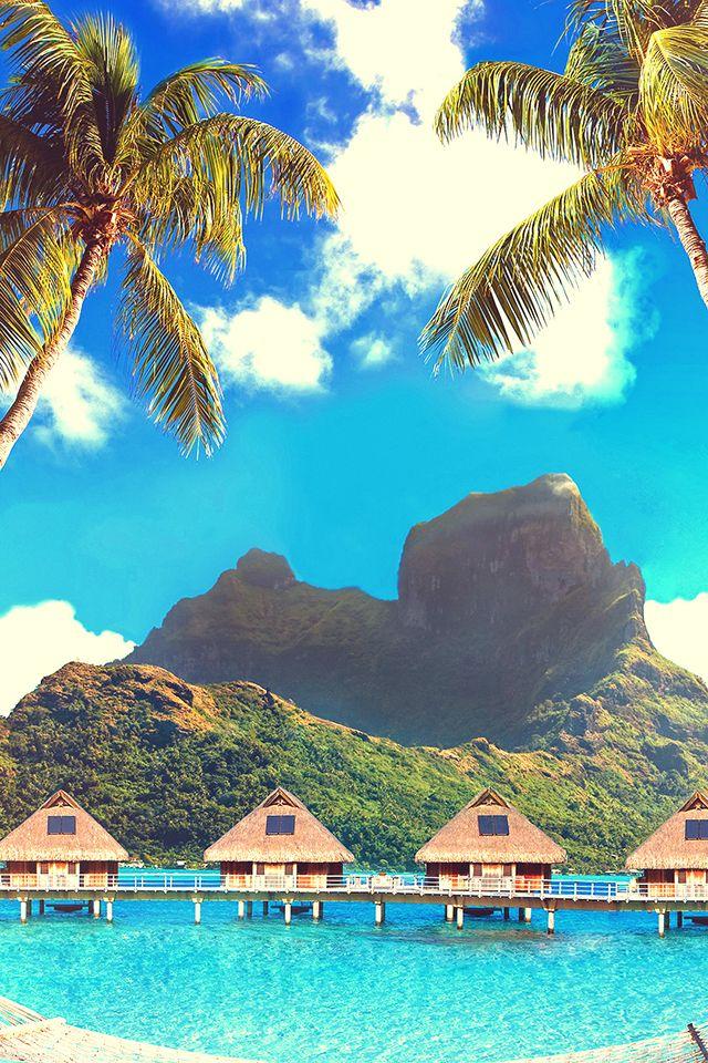 Image Result For Bora Bora Beach Resort Travel Nature Wallpaper