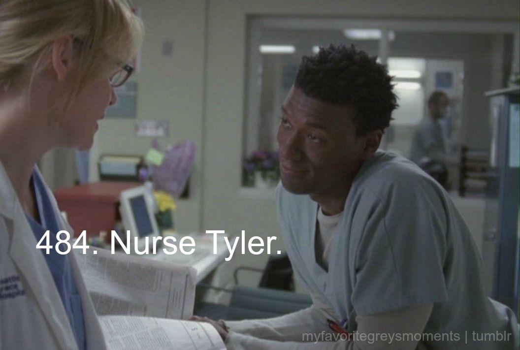 Nurse Tyler | Grey's Anatomy | Greys anatomy, Anatomy ...