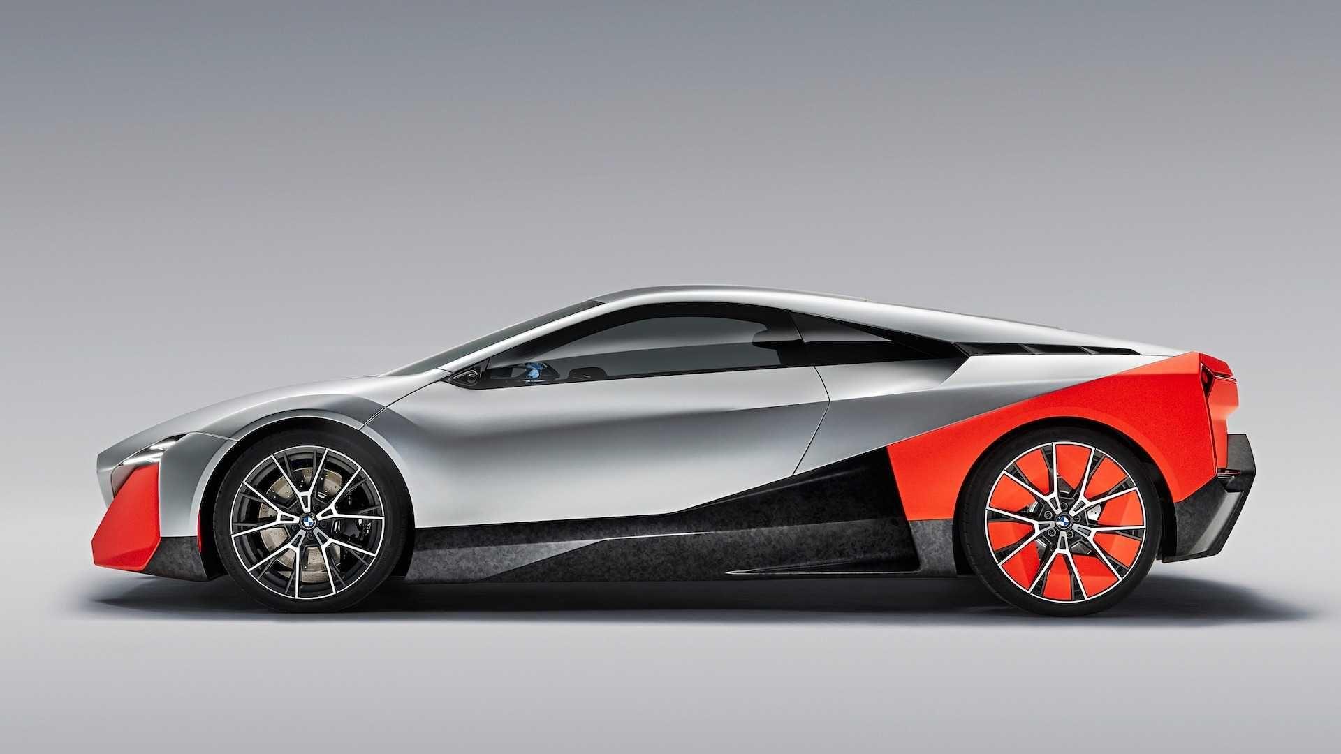 Bmw Vision M Concept Is A Stunning And Futuristic M1 Bmw Bmw Concept Car Hybrid Sports Car
