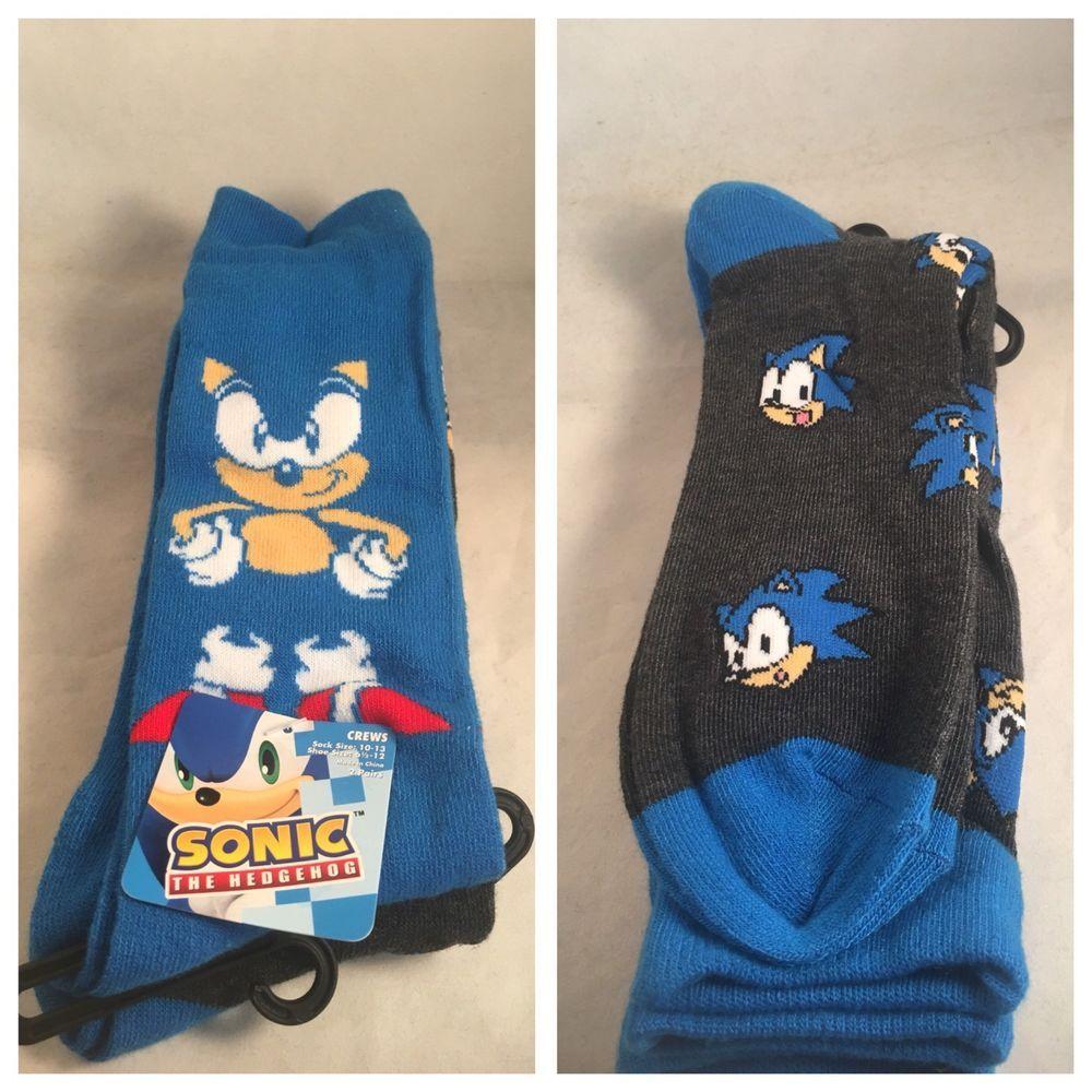 Sega Sonic Crew Socks Standard