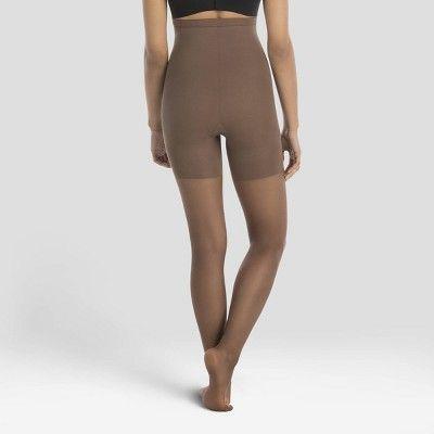 5c5e9096bc2ec Assets by Spanx Women's High Waist Perfect Pantyhose - Nude Sierra 2,  Medium Beige