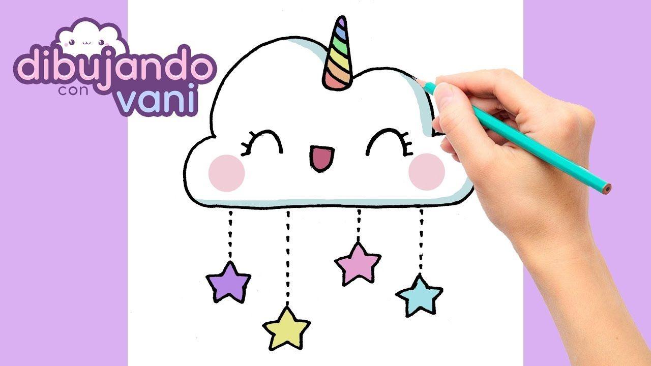 Como Dibujar Una Nube Unicornio Paso A Paso Imagenes Para Dibujar Di Como Hacer Dibujos Kawaii Dibujos De Nubes Dibujos Kawaii Faciles