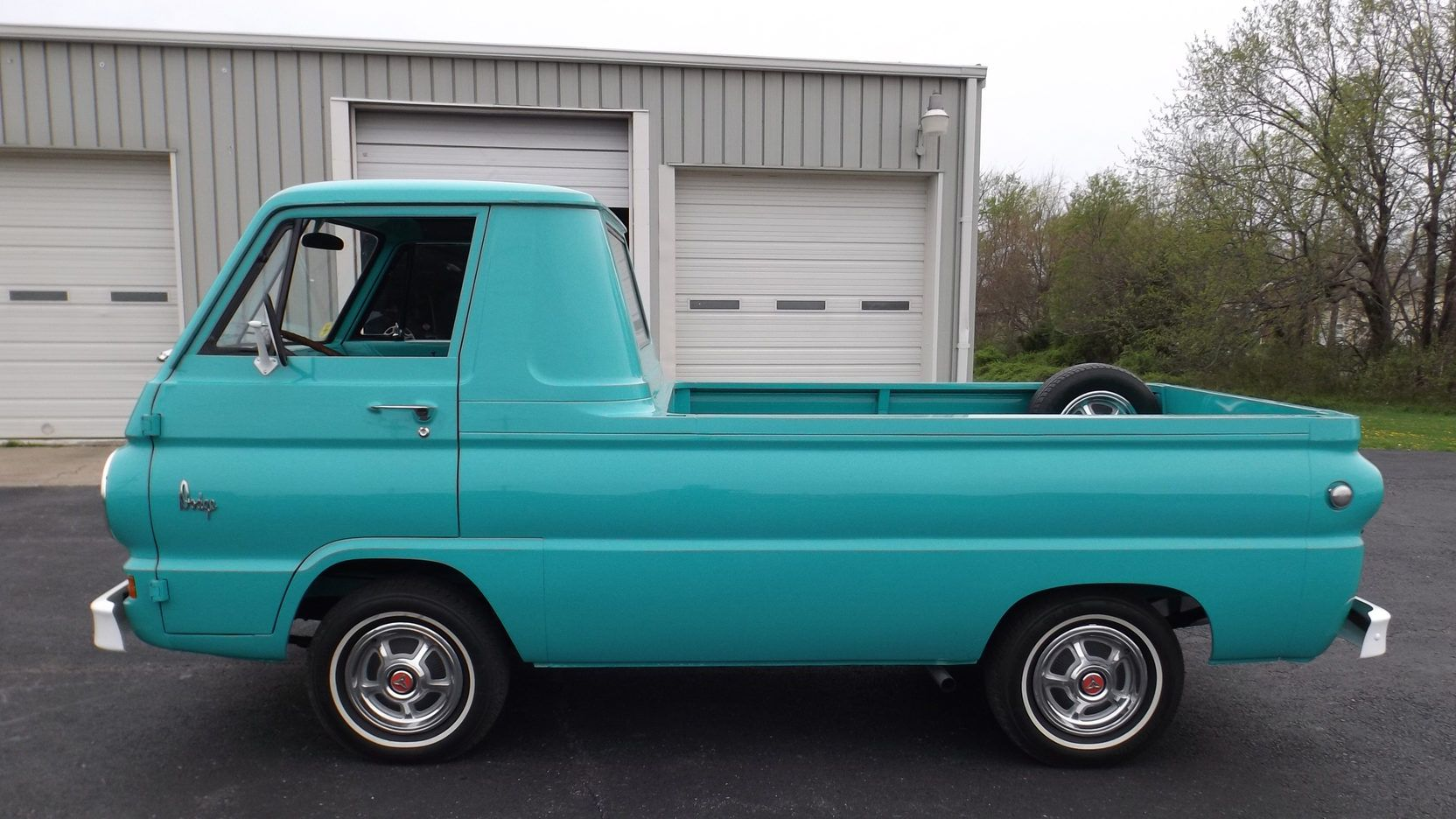 1965 Dodge A100 Pickup Often Confused With The Ford Econoline