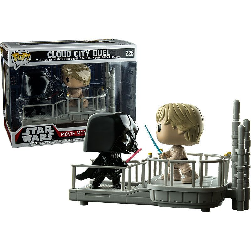 Star Wars Funko Pop Walgreens Exclusive Cloud City Duel Darth Vadar Vs Luke Skywalker Tesla S Toys Cloud City Star Wars Darth Vadar
