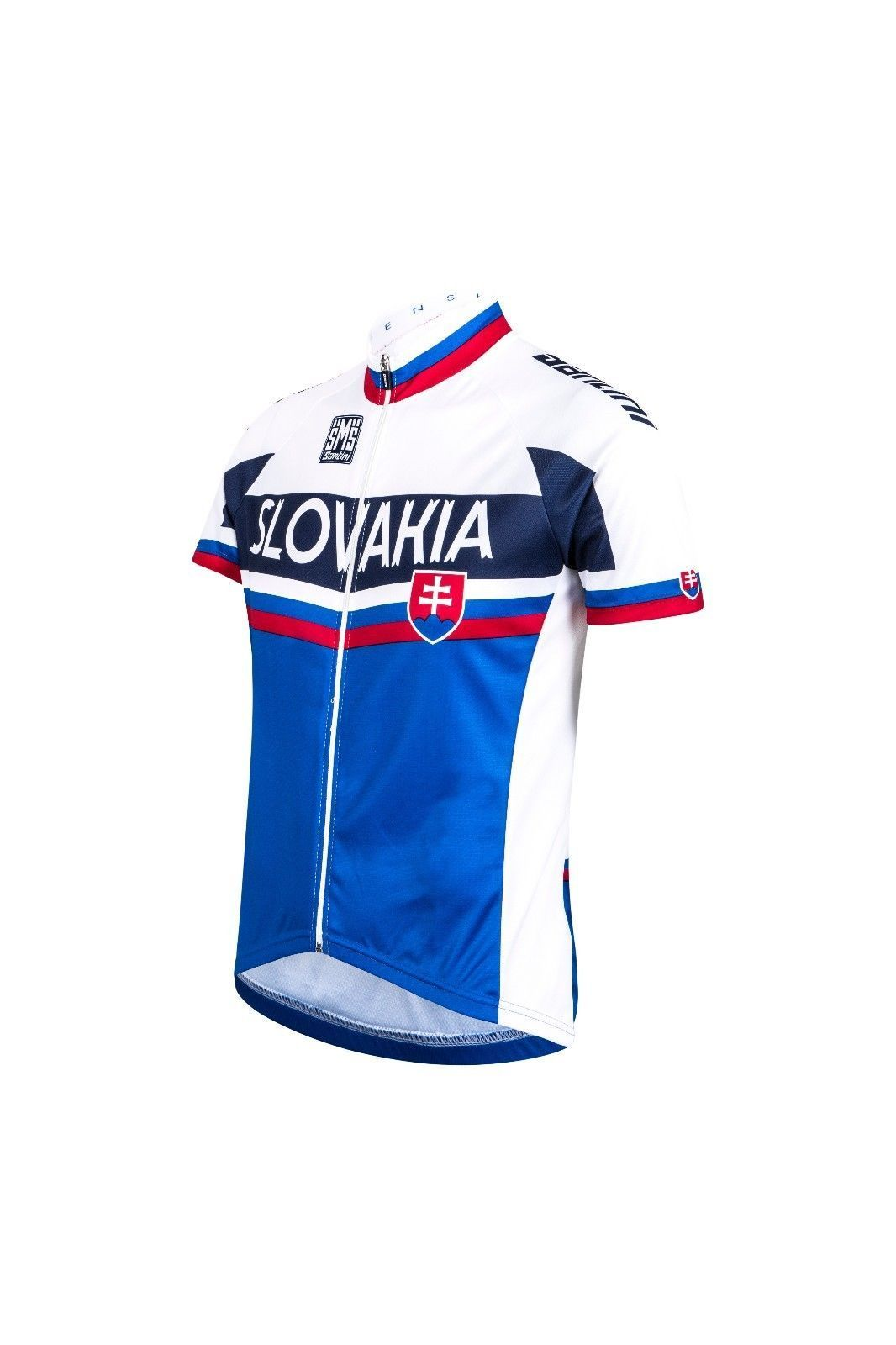 Slovakia National Team Short Sleeve Cycling Jersey Made in Italy by Santini 266ac8190