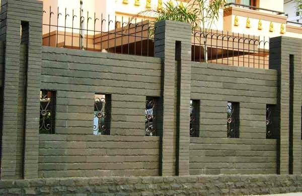 Contoh Pagar Tembok Rumah Yang Tinggi Rumah Minimalis Minimalis Rumah
