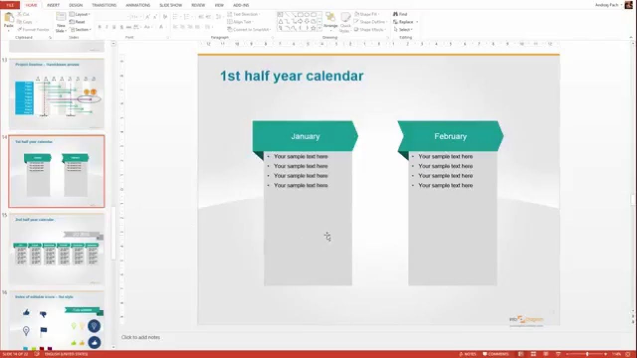 how to quickly design diagram pricing chart powerpoint timesaver