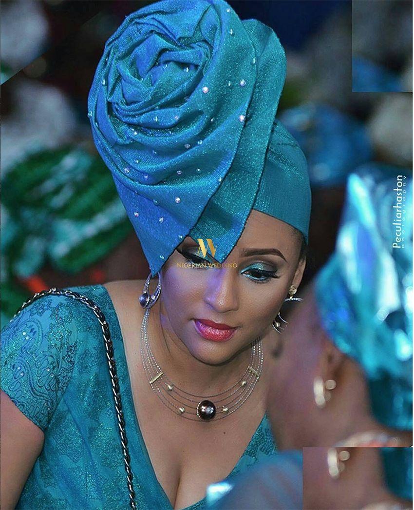 Nollywood Actress Lilian Bach Rocks Stylish Auto Gele By