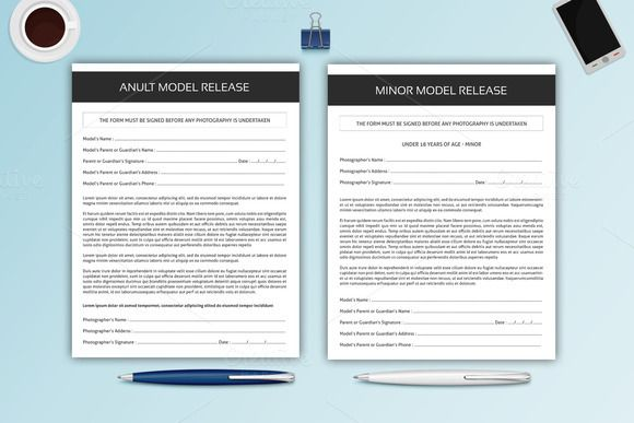 Photography Model Release Forms-V327 @creativework247 Stationery - model release forms