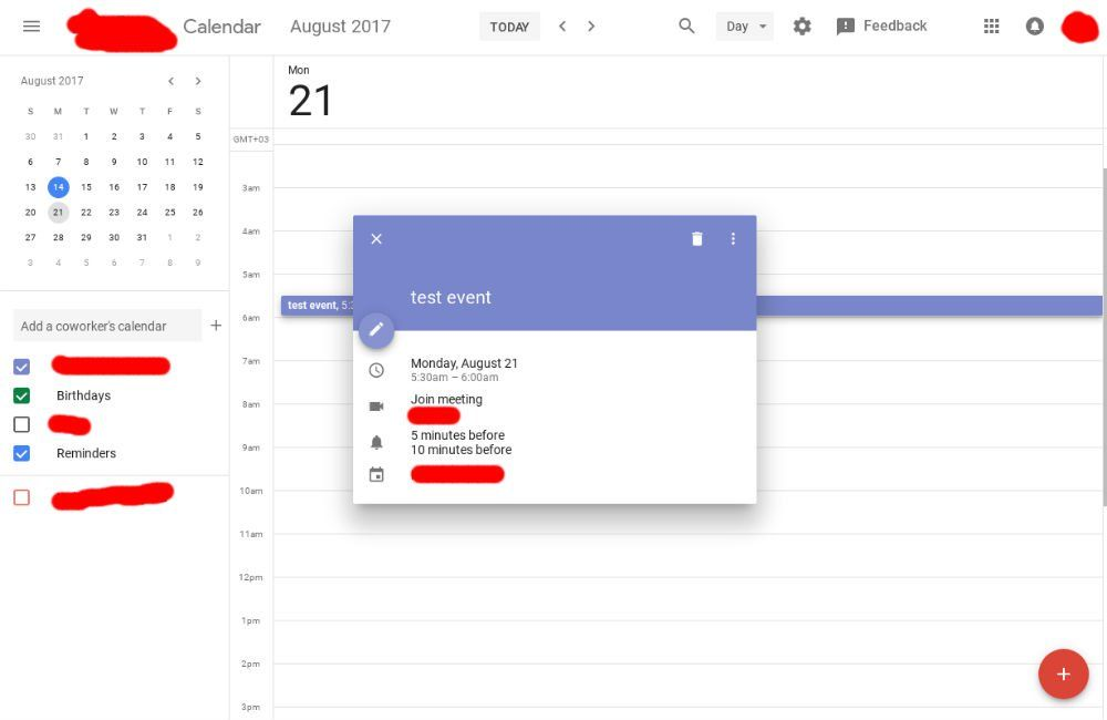 Check Out The Google Calendar Desktop Redesign With Material Design Http Www Droid Life Com 2017 08 14 Google Material Design News Web Design Google Calendar