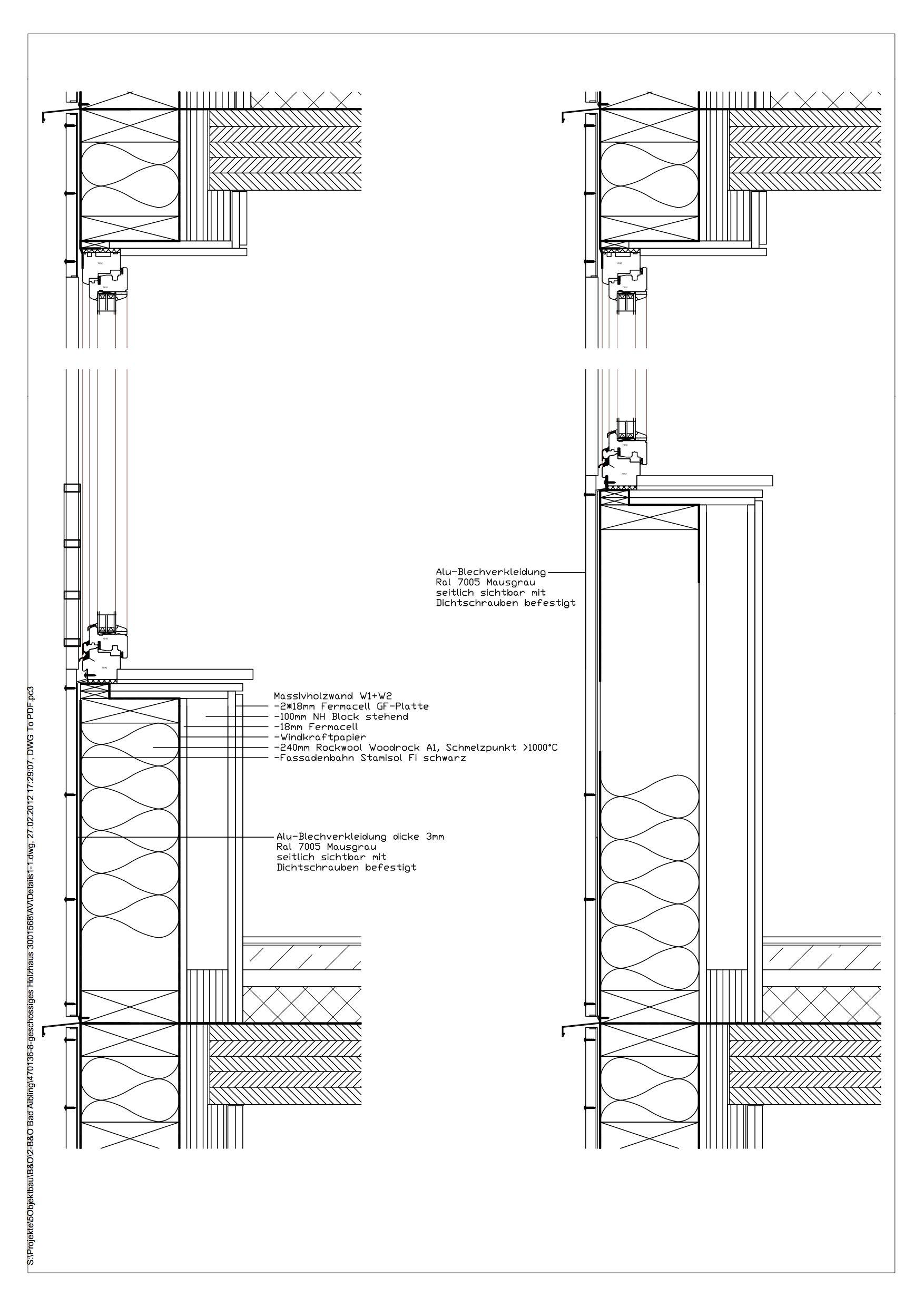 Brandschutz Im Holzbau Dabonline Deutsches Architektenblatt Holzbau Architekt Holzrahmenbau