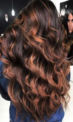 Photo of 23 Best Fall Hair Colors & Ideas for 2018 #caramelbalayage Caramel Balayage Idea…