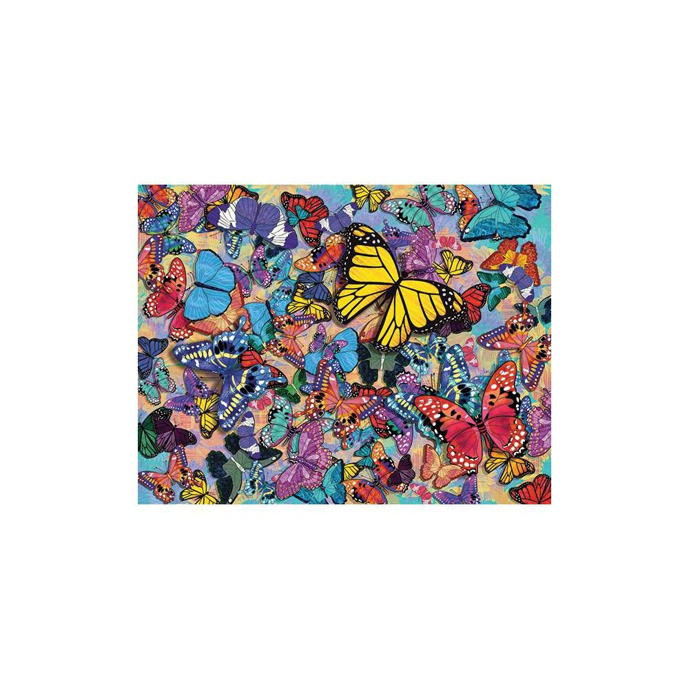 Jigsaw Toys & Hobbies Springbok Butterfly Frenzy 500 Piece Jigsaw ...