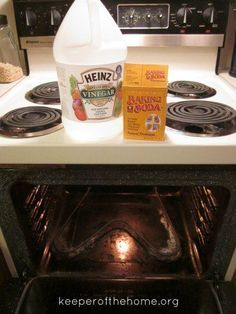 Making A Safe Homemade Oven Cleaner Made With Only Baking Soda