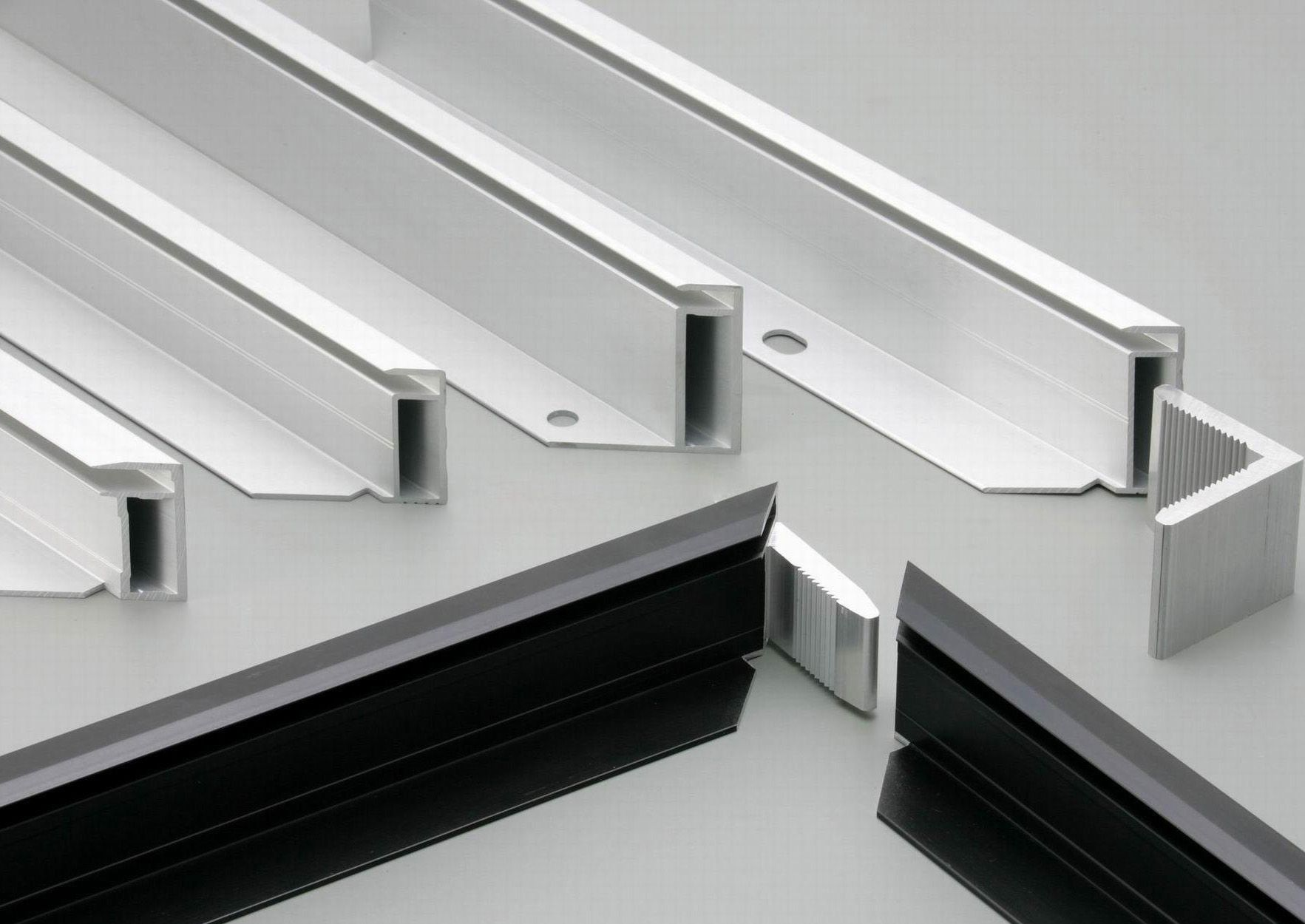 Home Aluminum Furniture Aluminium Doors Glass Wardrobe