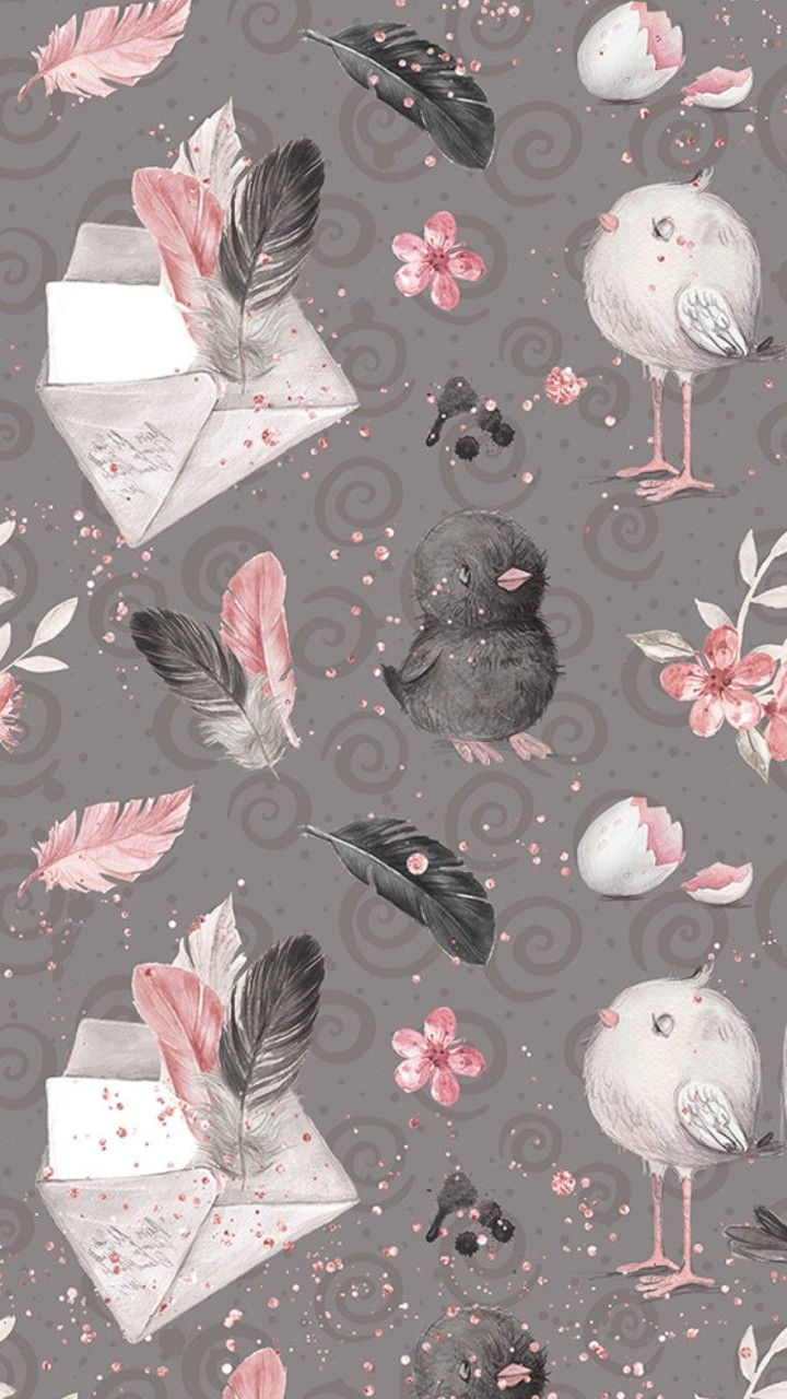 101 Cute Iphone Backgrounds Page 5 Of 6 Desktop Backgrounds Lukisan Flamingo Poster Bunga Ilustrasi Pola