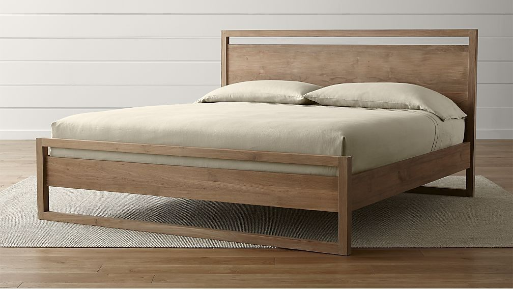 Cama Linea II King - cratebarrelpe | Objetos | Pinterest | Camas ...