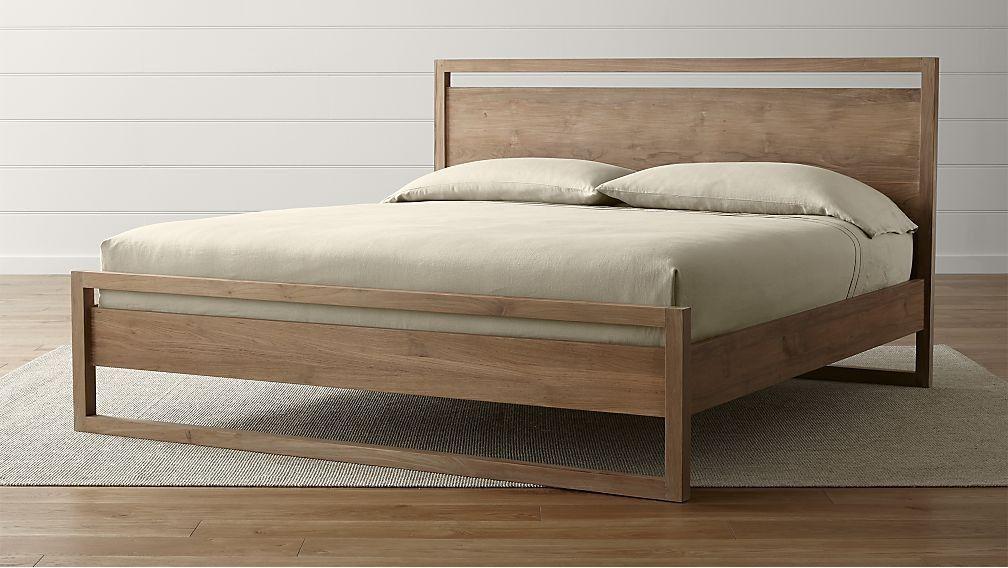 Cama Linea II King - cratebarrelpe | bedroom | Pinterest | Camas ...